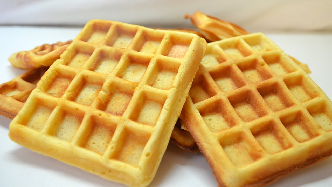 Waffle salado